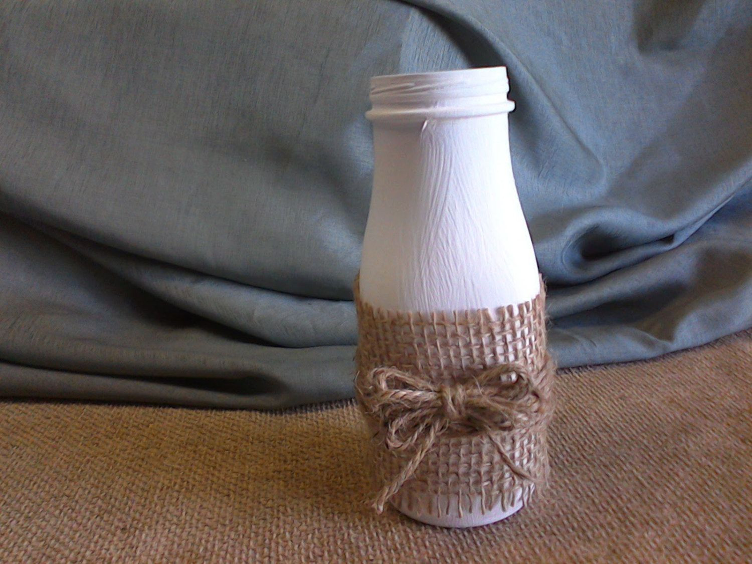 glass milk jug vase of milk bottle with burlap vase 02 10 0028 by myrustycottage on etsy pertaining to milk bottle with burlap vase 02 10 0028 by myrustycottage on etsy