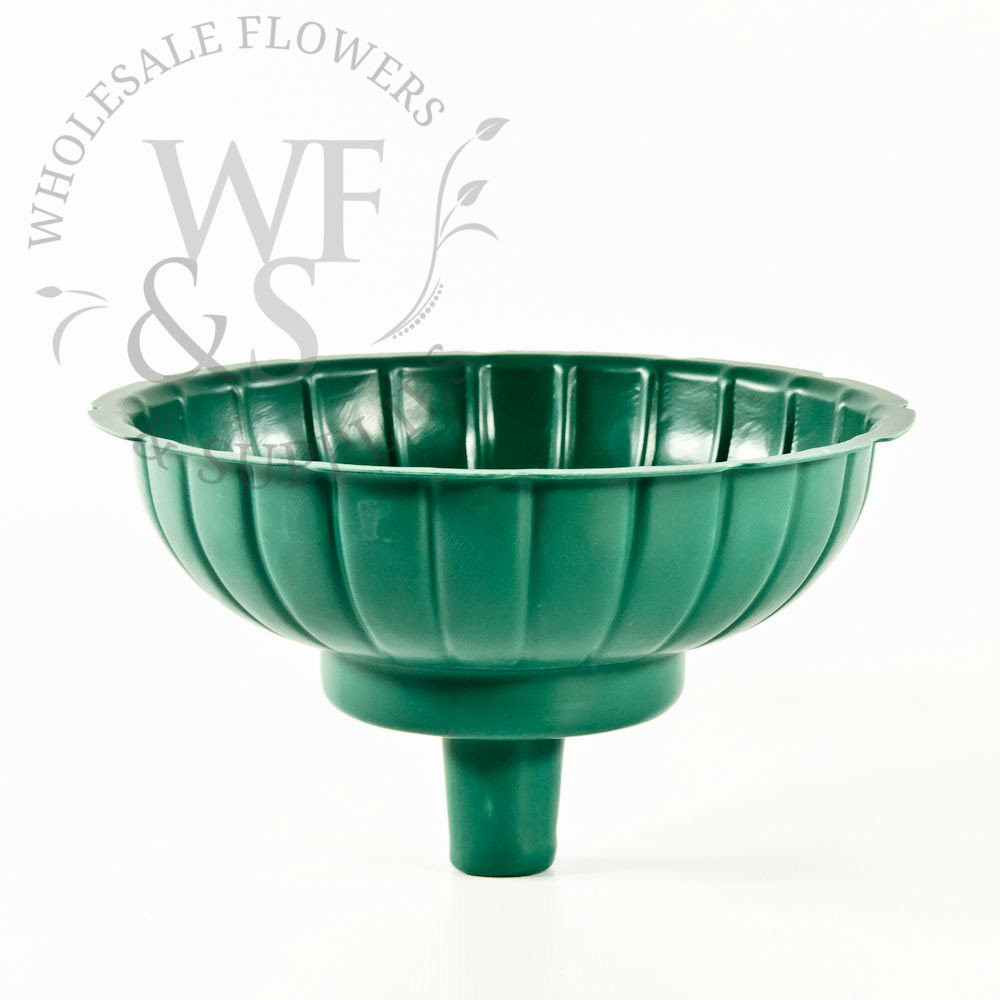 Glass Pedestal Bowl Vase Of Plastic Vases wholesale Flowers and Supplies In 7 Round Green Floral Container for tower Vases