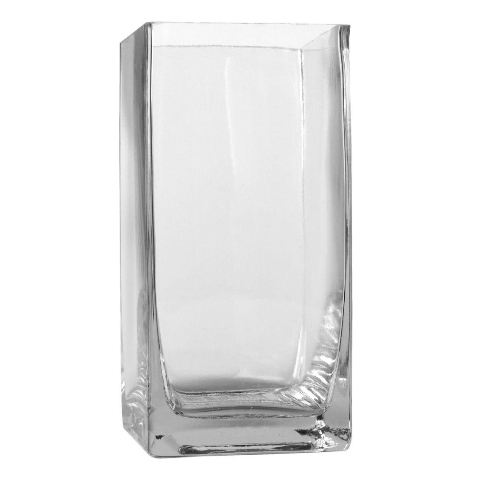glass pillar vase by ashland of ashland tall cube glass vase cube and glass throughout ashlanda tall cube glass vase 6