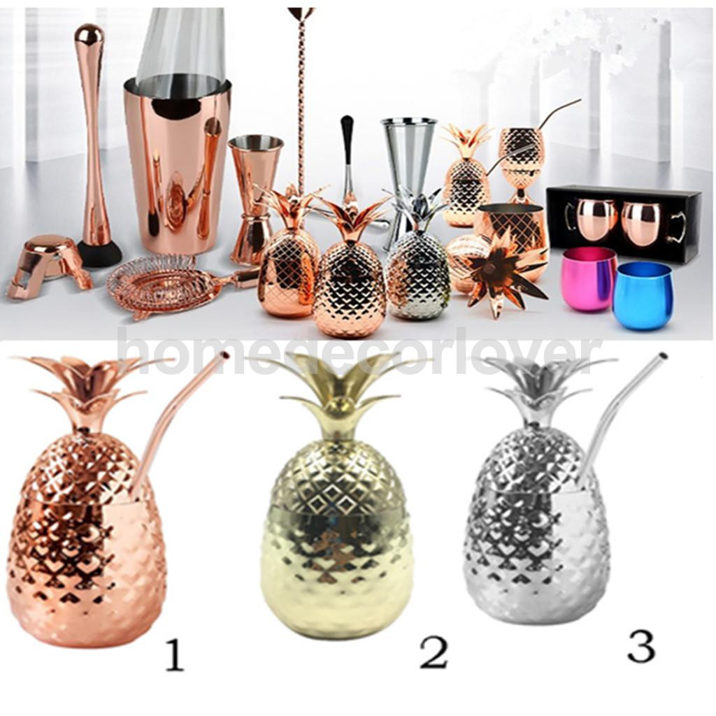 glass pineapple vase of pineapple shaped stainless steel wine glass tumbler with lid 12 oz intended for pineapple shaped stainless steel wine glass tumbler with lid 12 oz tumbler cup for coffee