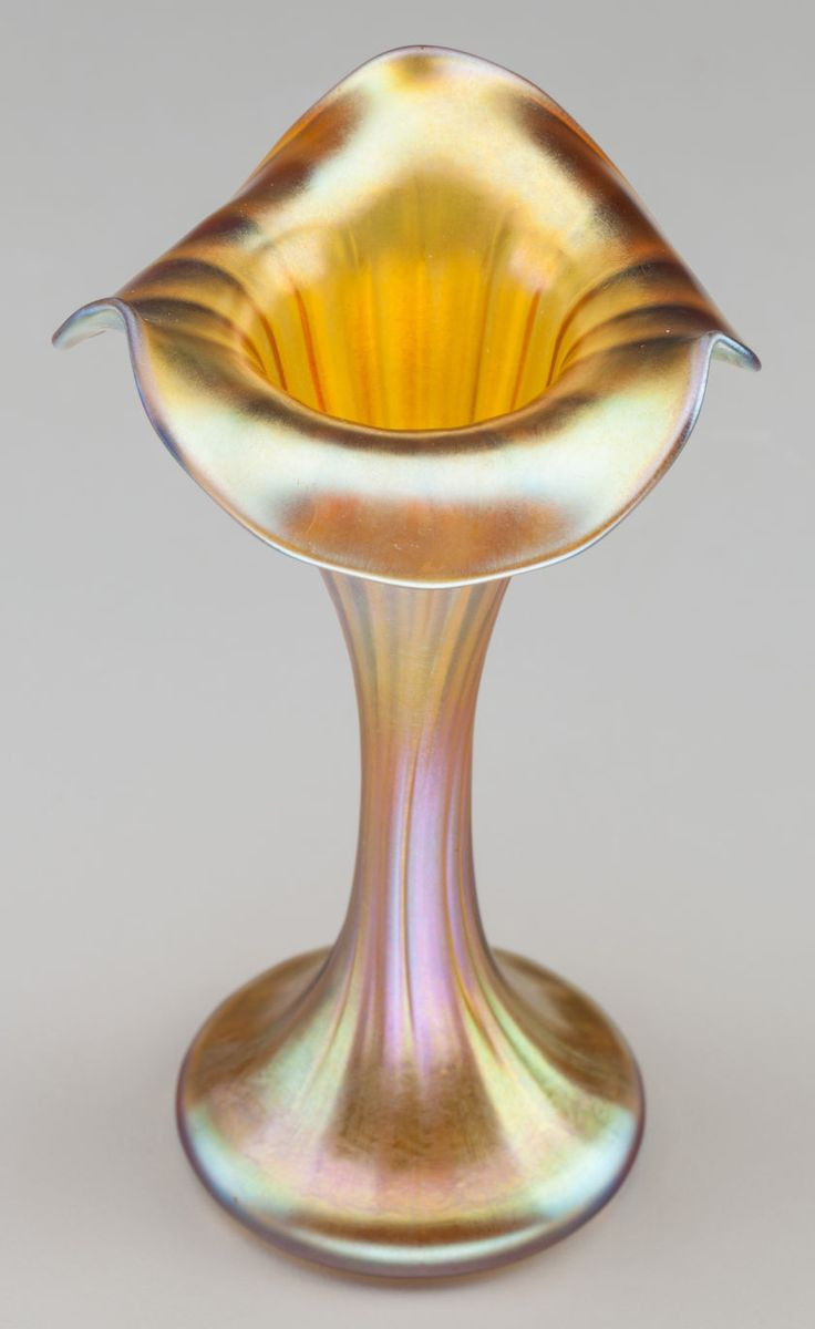 glass sea urchin vase of 2681 best art glass images on pinterest crystals glass art and vases pertaining to quezal iridescent glass floriform cabinet vase circa 1900 marked quezal 5 1