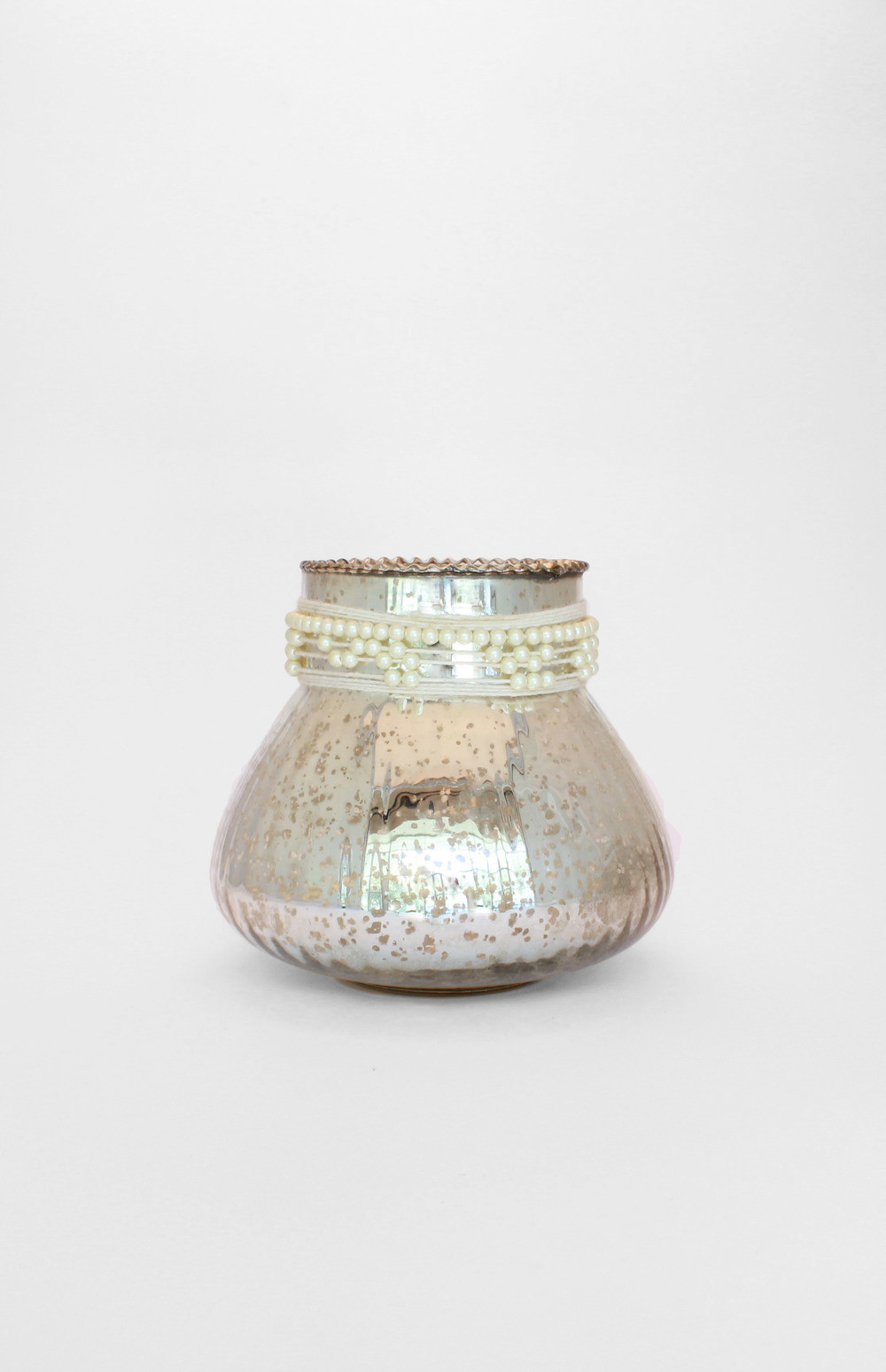 Glass Sea Urchin Vase Of Revel Intended for Mercury Pearl Vase