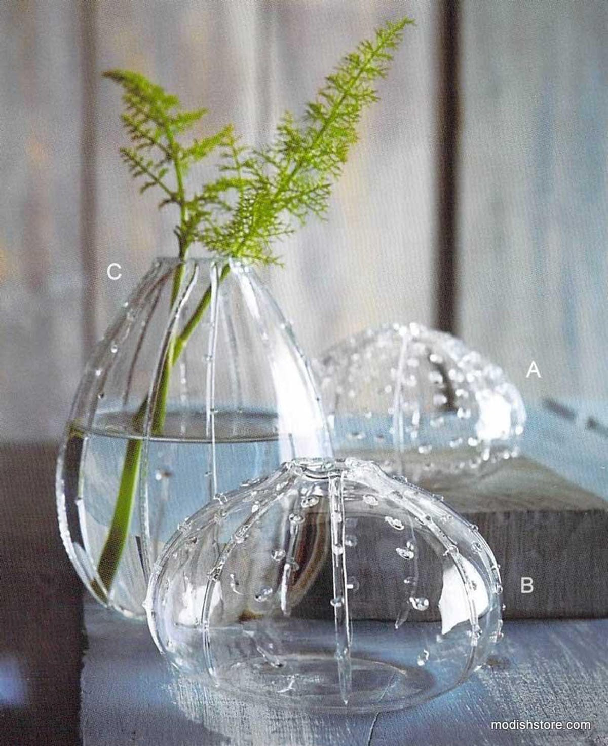glass sea urchin vase of roost hand blown glass sea urchin vases set of 6 modish store inside roost sea urchin vases mixed set 3