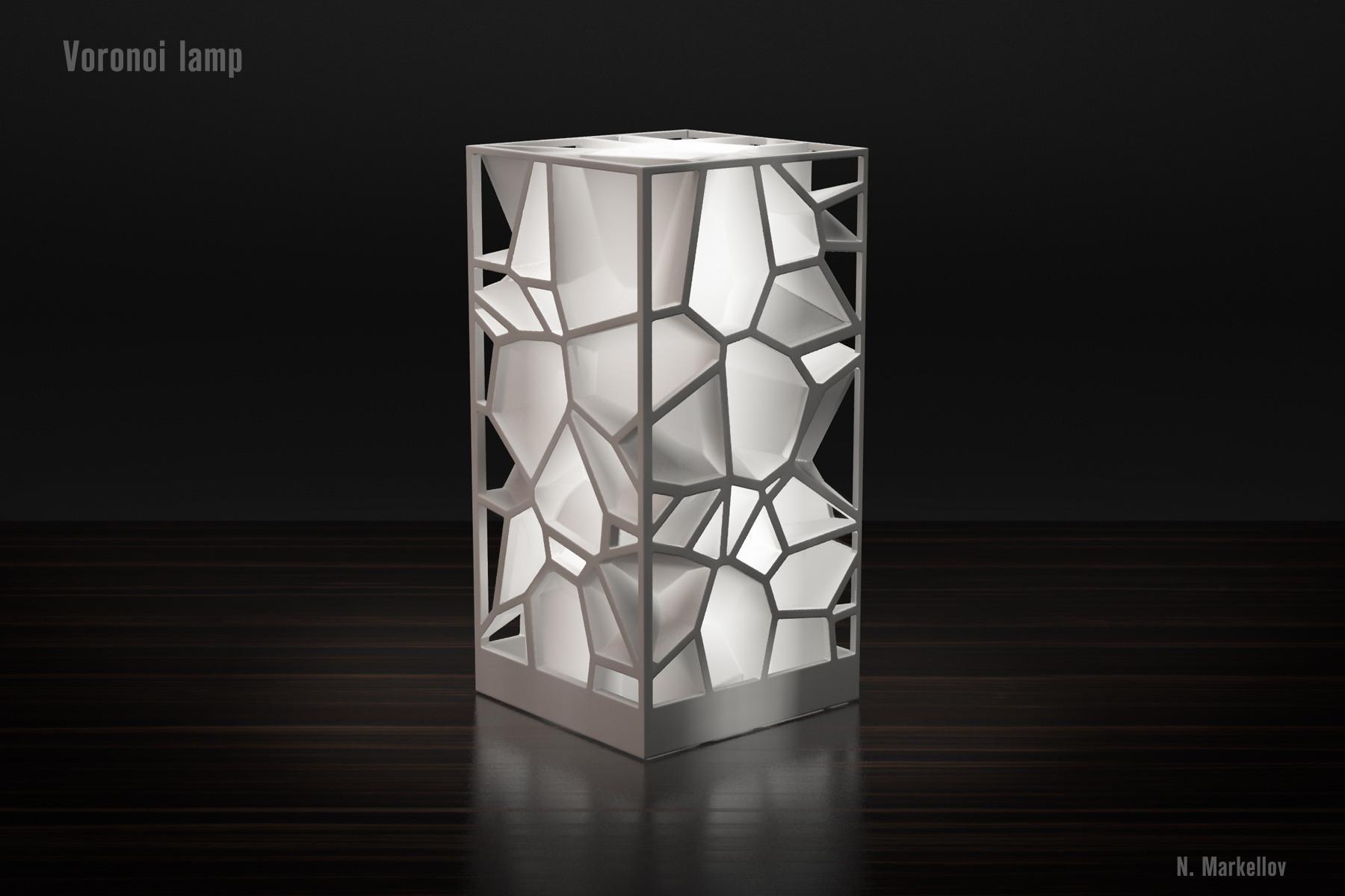 glass seashell vase of voronoi lamp by markellov thingiverse throughout by markellov dec 9 2014 view original