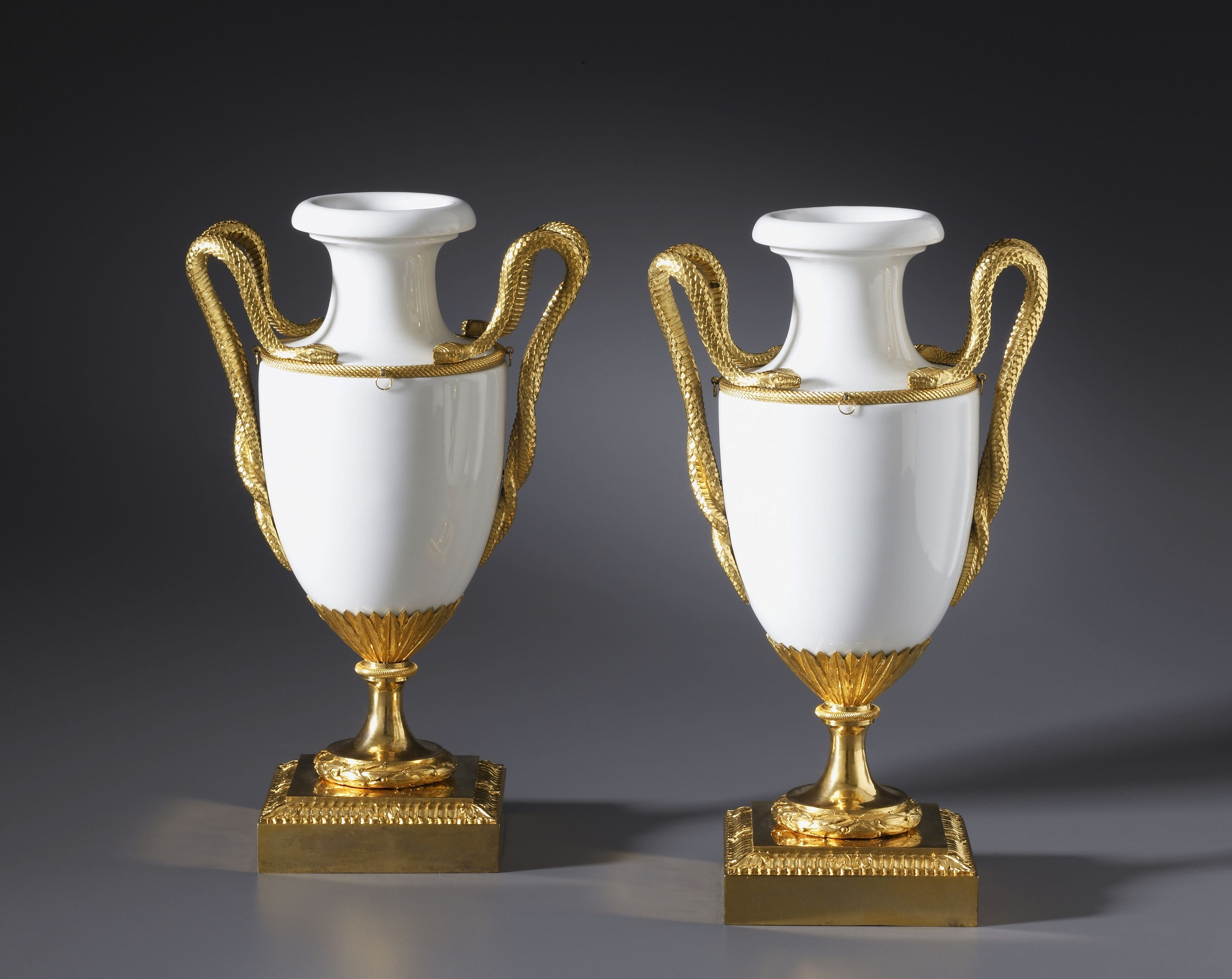 glass vase manufacturers of locra a pair of louis xvi vases by locra fabrique de la courtille with a pair of louis xvi vases by locra fabrique de la courtille