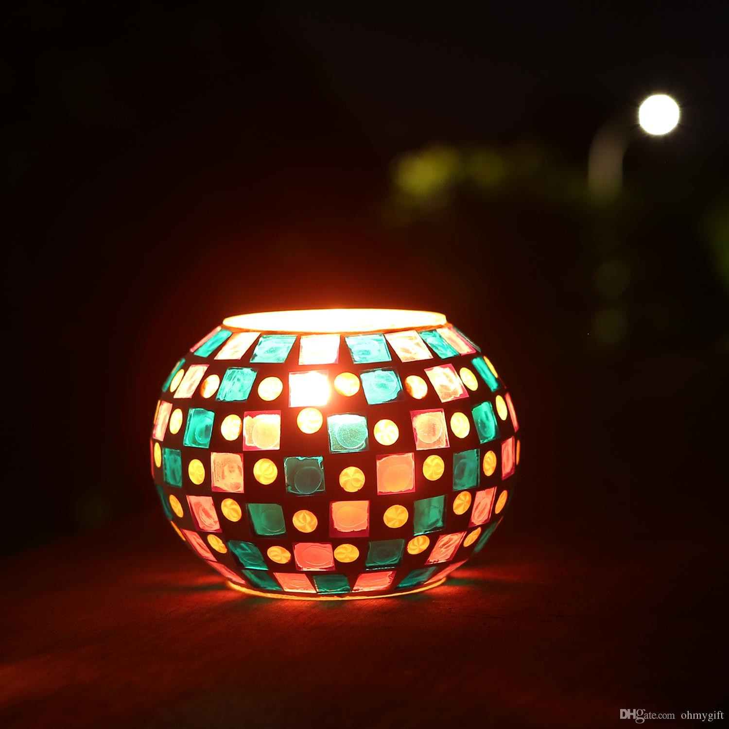 glass vase with hole for lights of 2018 magicnight color changing mosaic solar table light glass bowl intended for 2018 magicnight color changing mosaic solar table light glass bowl small disco globe ball night lamp for garden patio porch from ohmygift 18 79 dhgate