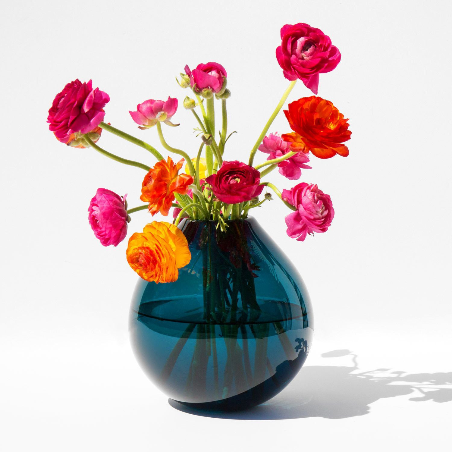Glass Vase with Iron Stand Of Samuji Koti Mouth Blown Drop Glass Vase for the Home Pinterest with Samuji Koji Mouth Blown Drop Glass Vase Kindred Black
