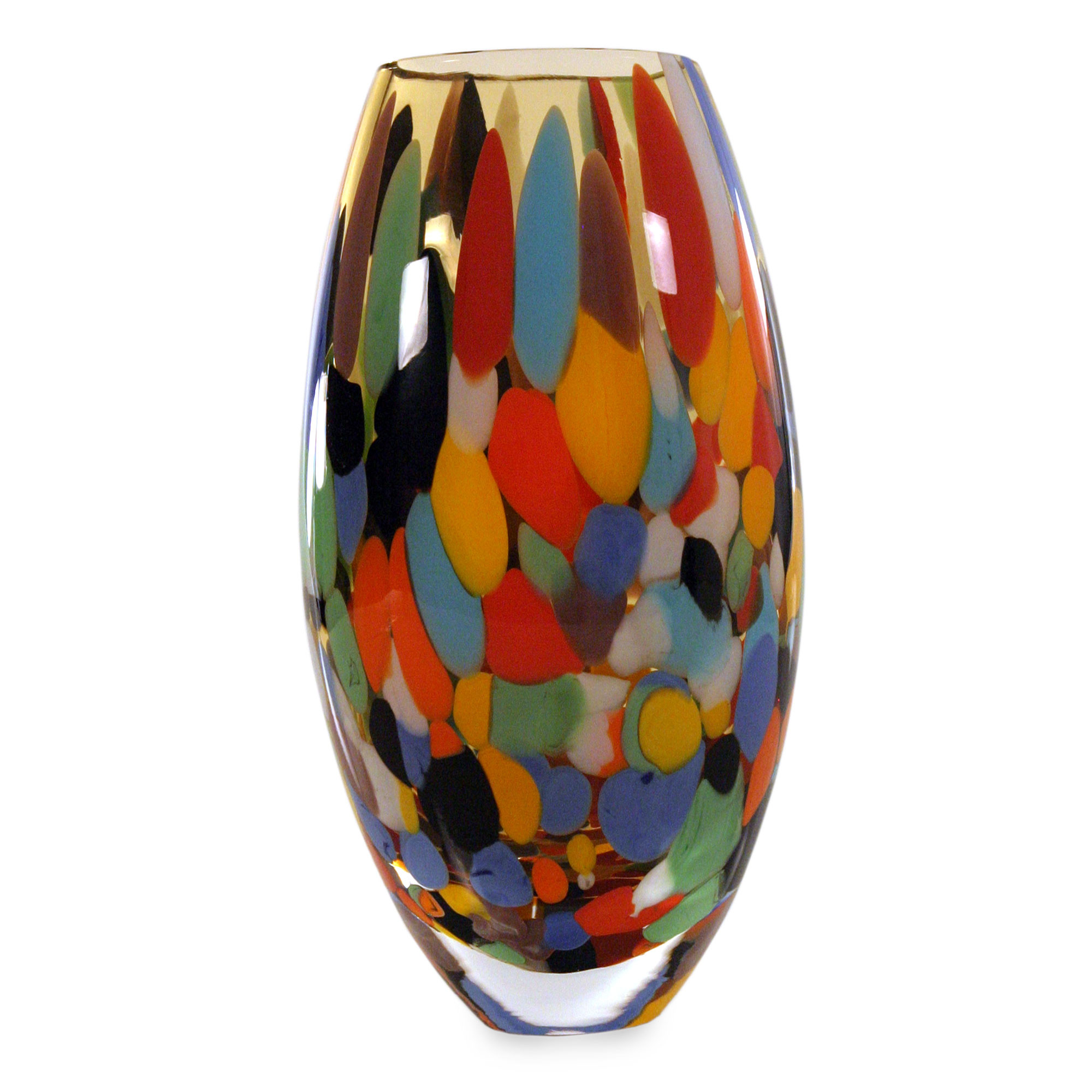 27 attractive Gold Carnival Glass Vase