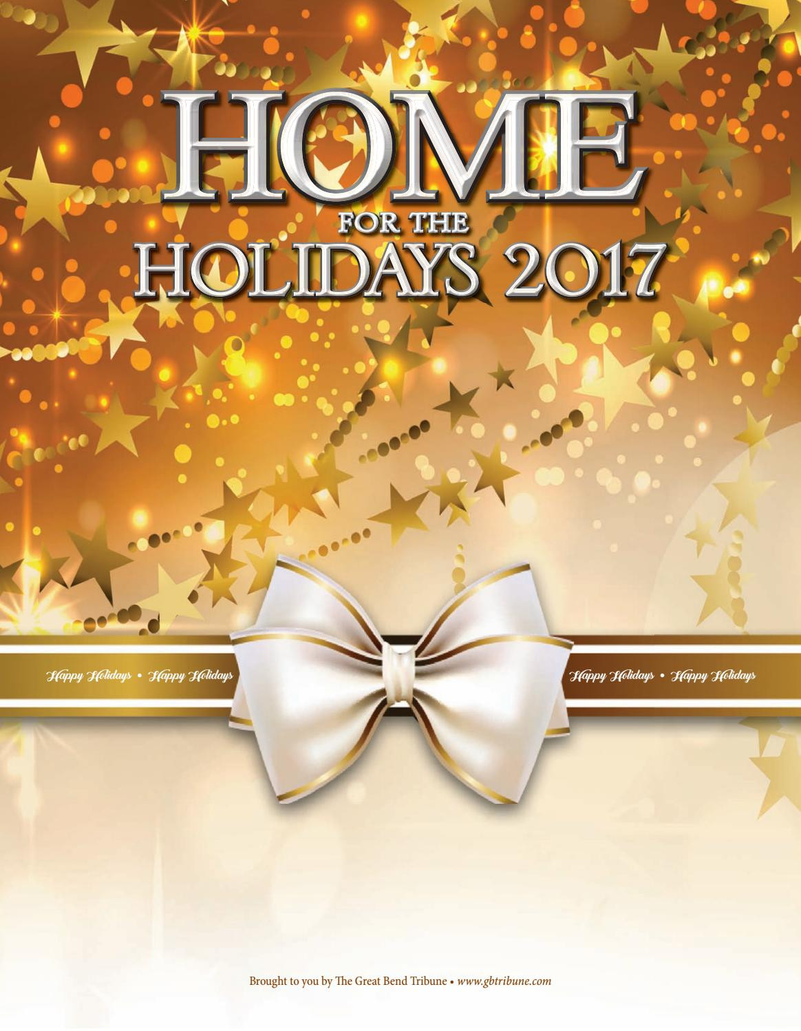 gold crushed glass vase filler of home for the holidays 2017 by great bend tribune issuu intended for page 1