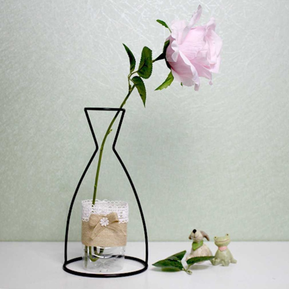 gold cylinder vase of vase modern minimalist decorative metal vase home decor bottle jar throughout 4 shapes black iron shelving glass vase flower ornaments plant flower iron vase simple diverse vases