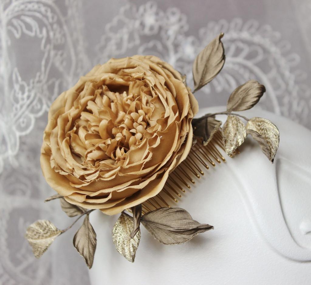 gold dipped vase of lovely fabric flowers silk flower hair b silk rose bridal b gold in fabric flowers silk flower hair b silk rose bridal b gold