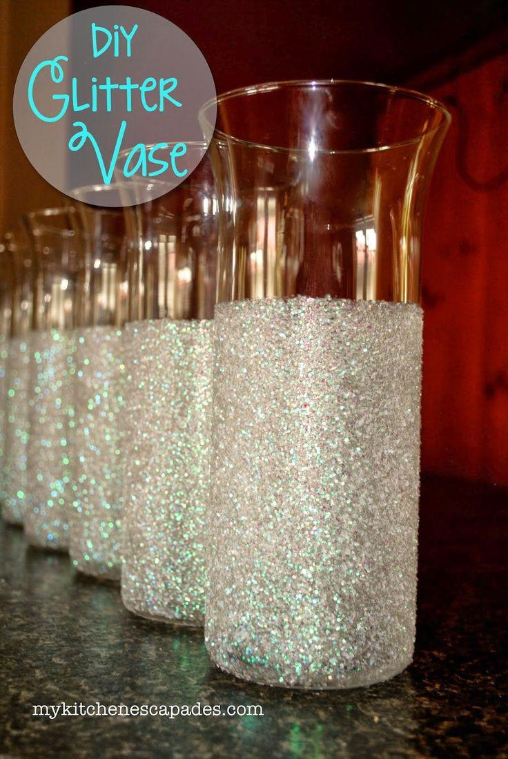 Gold Glitter Vase Of 26 Best Communion Images On Pinterest Communion Centerpieces Inside Diy Glitter Vase My Kitchen Escapades