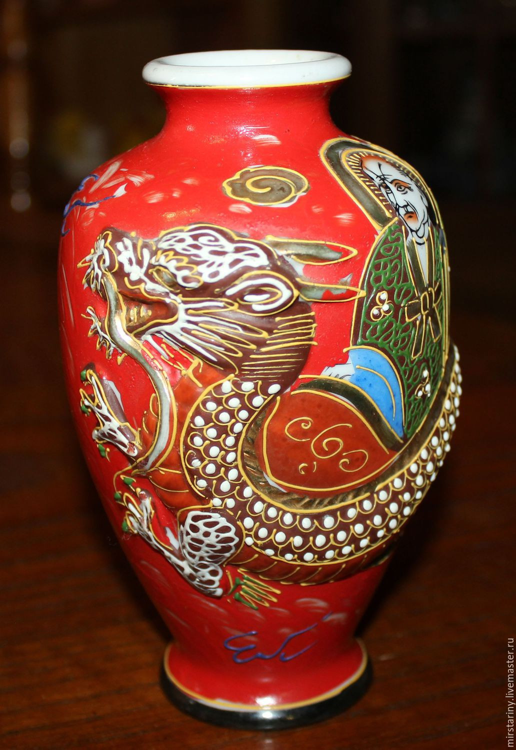 27 Lovely Gold Imari Hand Painted Vase
