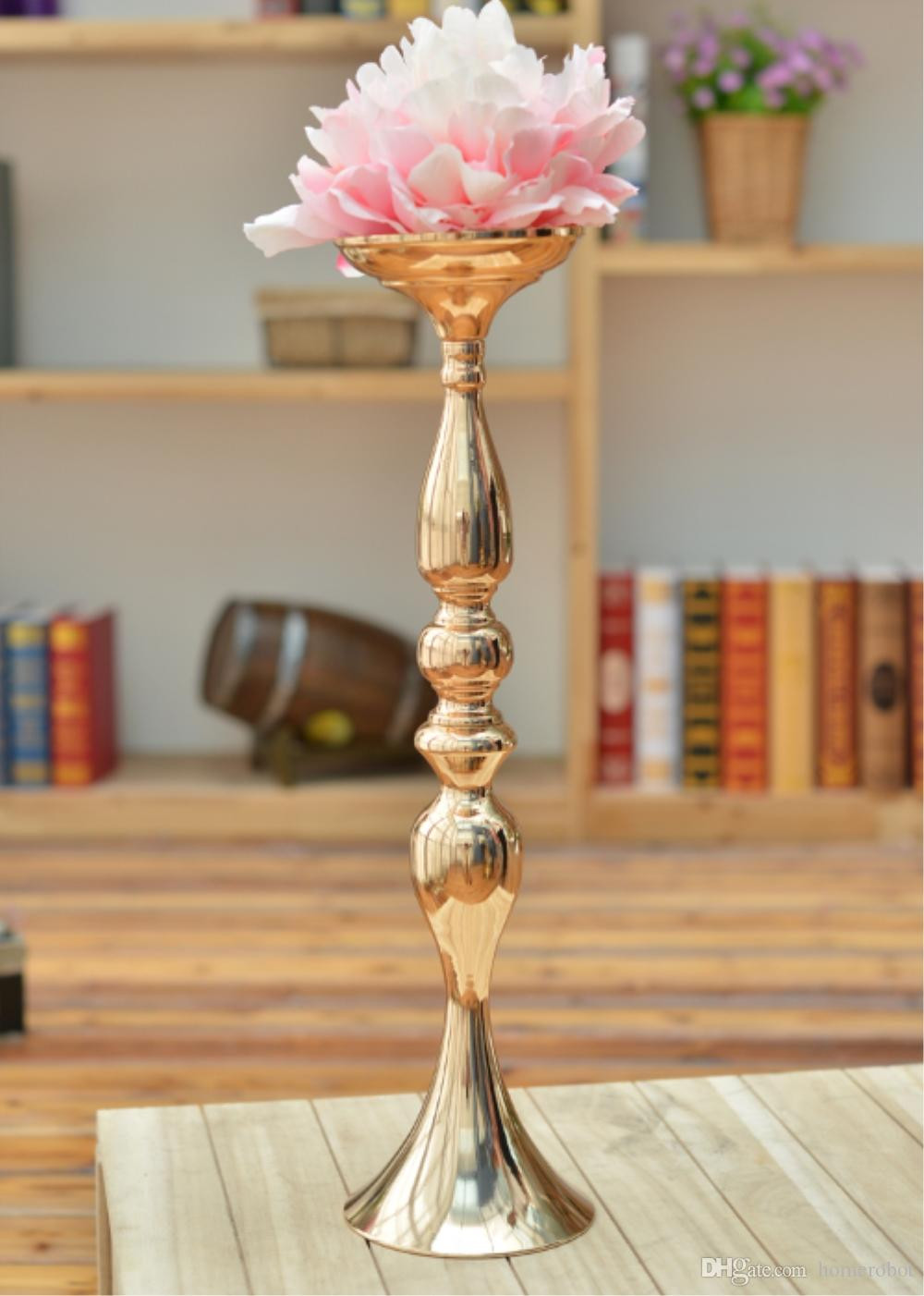 12 attractive Gold Striped Vase 2021 free download gold striped vase of gold candle holders 55cm tall metal candlestick flower vase table with our factory showcase