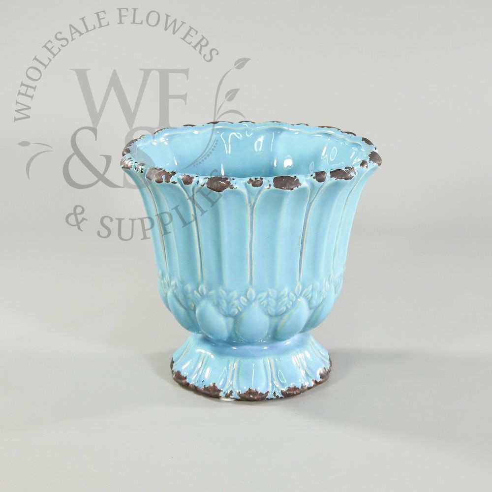 gold urn vase wholesale of 10 95 blue crackle ceramic urn 6 tall 6 opening 4 base intended for buy blue crackle ceramic urn at the best wholesale prices check this and more vases containers for cheap with national shipping