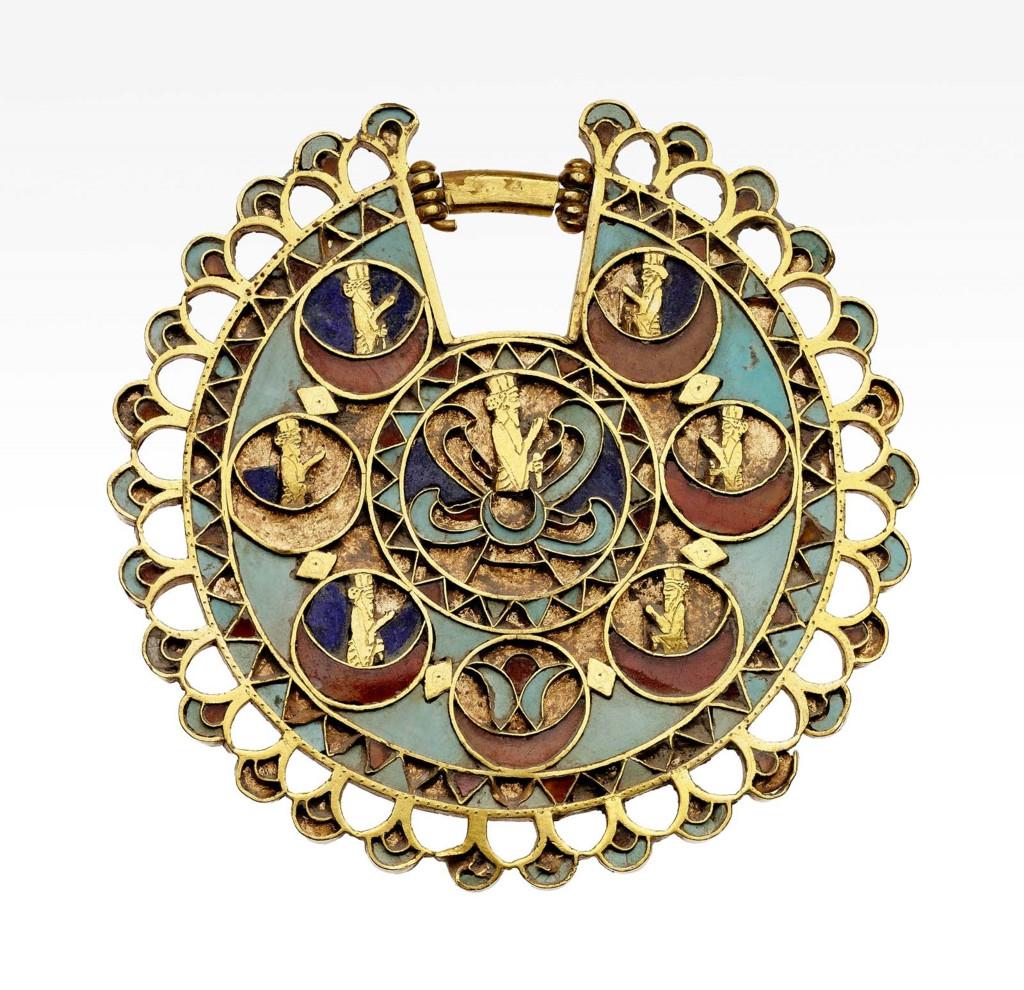 gold vase filler rocks of jewelry museum of fine arts boston regarding earring