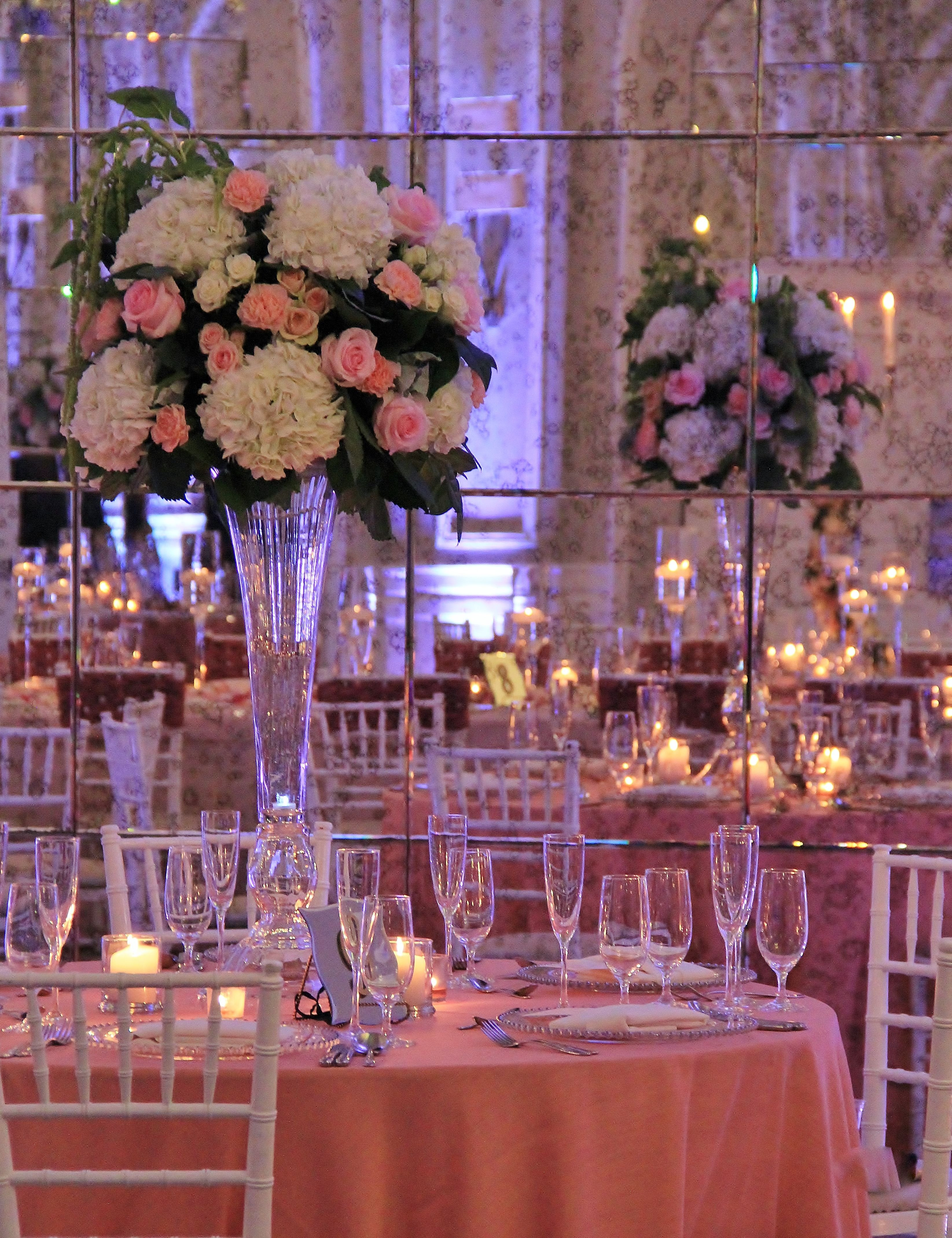 gold vase stand of edding centerpieces fresh gold vase stratadime in wedding floral centerpieces fresh trumpet vases filled at the crystal ballroom with hydrangeas spray wedding