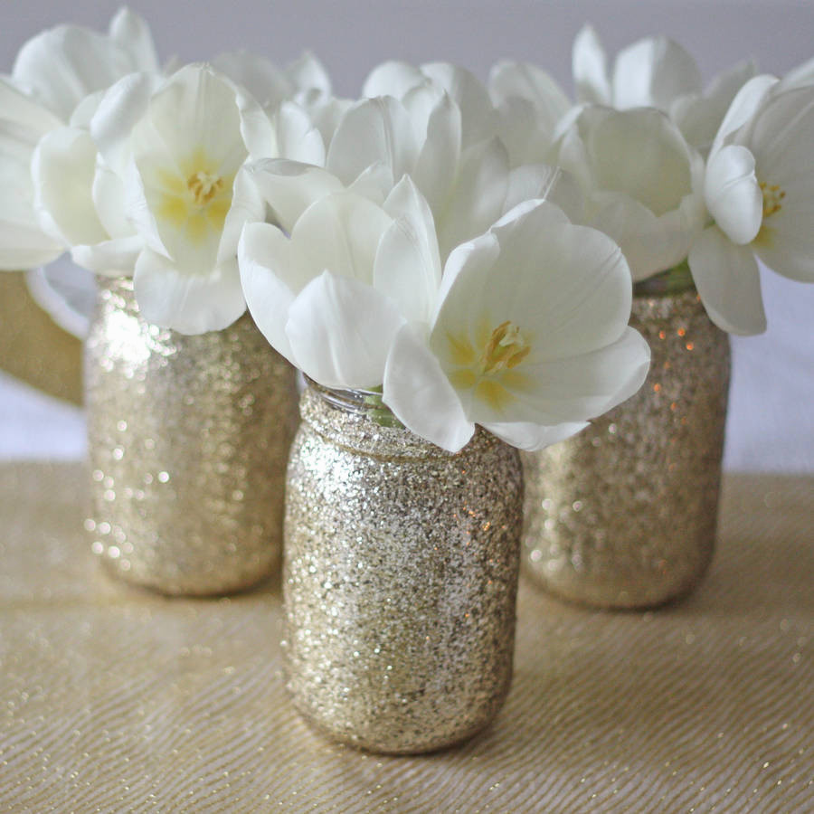 gold vase white flowers of awesome il fullxfull h vases black vase white flowers zoomi 0d with with luxury gold glitter jar vase by the wedding of my dreams of awesome il fullxfull h