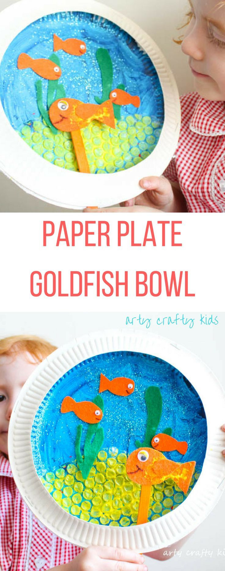 goldfish vase of paper plate goldfish bowl craft crafts pinterest goldfish bowl in paper plate goldfish bowl craft arty crafty kids