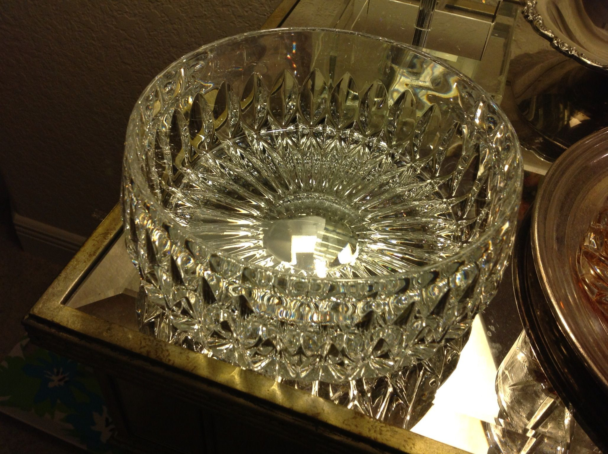 gorham crystal vase of large gorham crystal bowl 9 great finds goodwill haul pinterest in large gorham crystal bowl 9