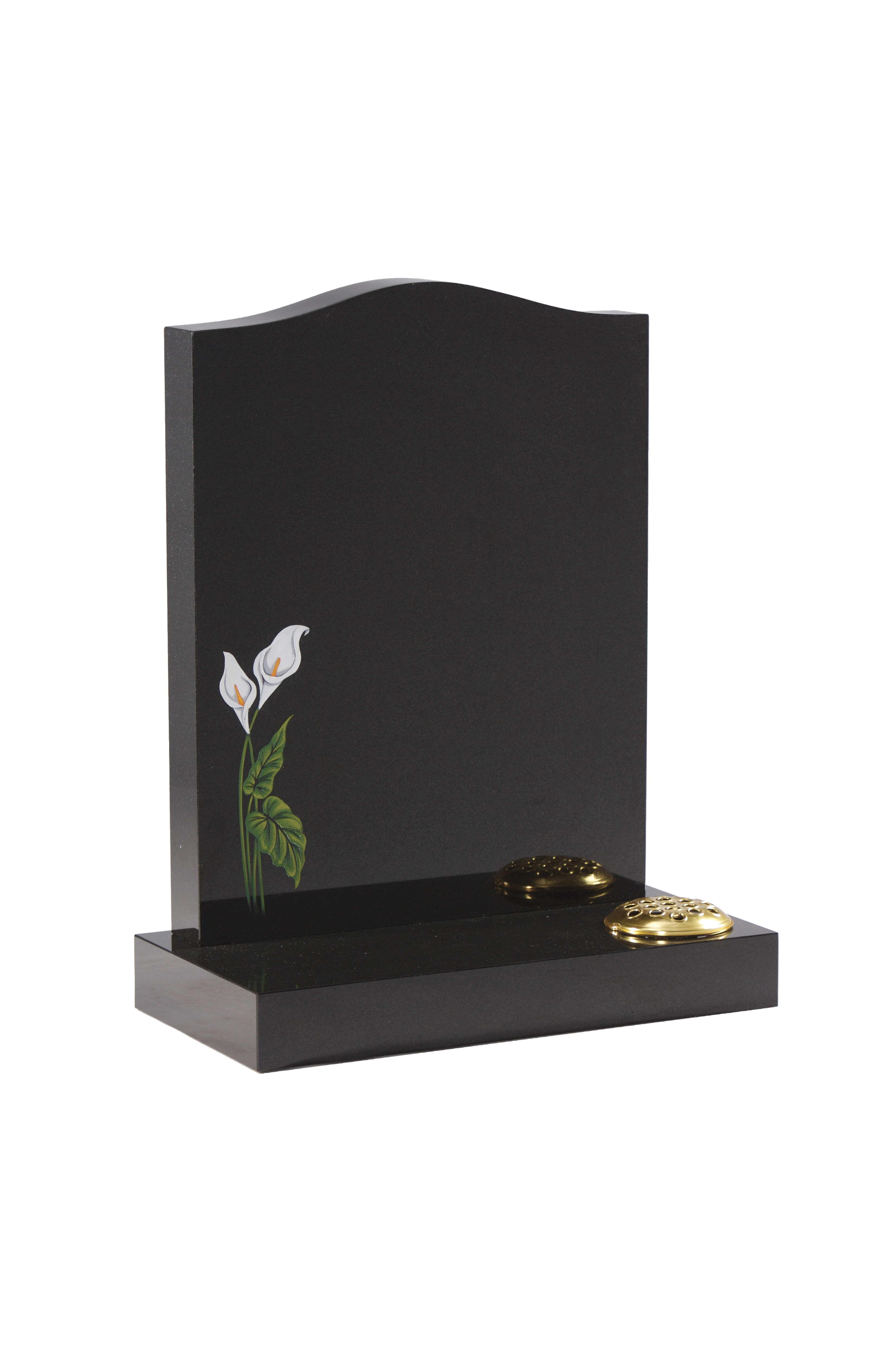 granite cemetery vases suppliers of halton memorials products and services halton memorials intended for polished granite headstone with flower vase hmec32