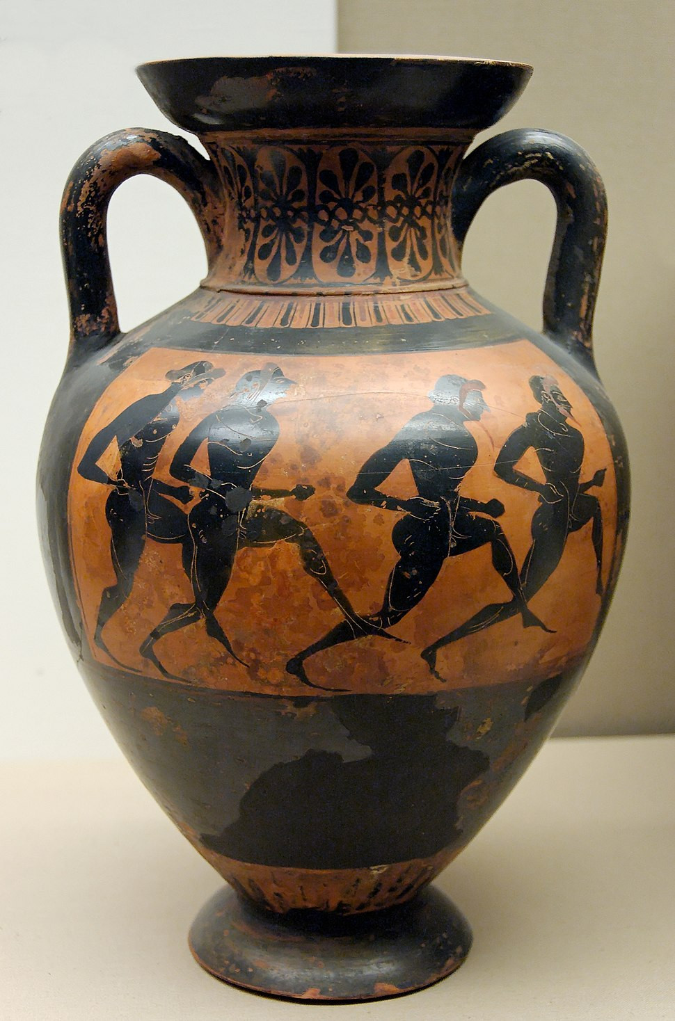 greek amphora vase of typology of greek vase shapes howling pixel with regard to panathenaic amphora bm b137