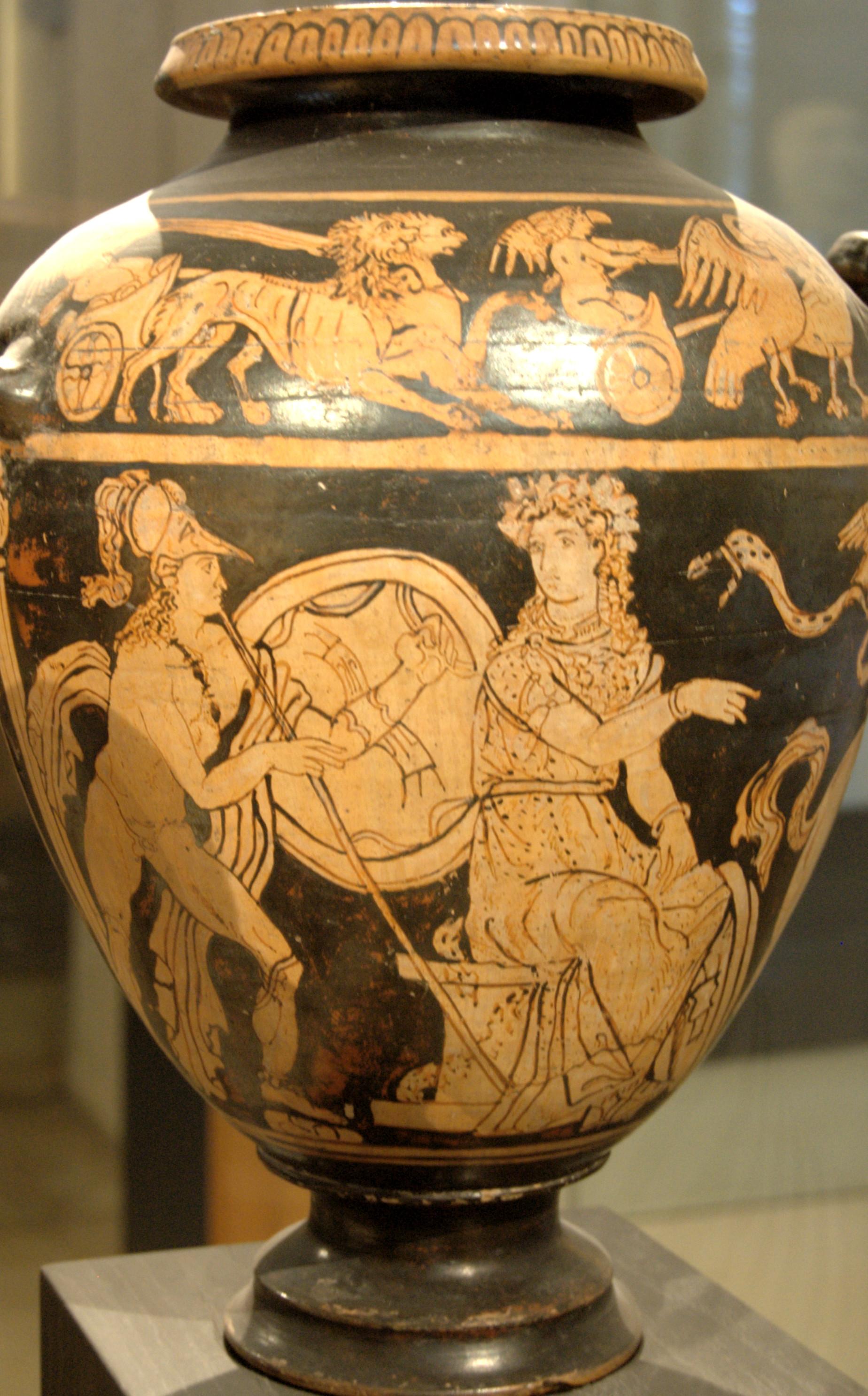 23 Fabulous Greek Vase Shapes 2021 free download greek vase shapes of evolution of pottery part 2 evolution of pottery part 2 within akhilleus athena louvre ca6529