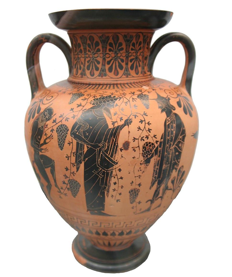 greek vase shapes of typology of greek vase shapes howling pixel inside greek vase dionysos attica 520 bc