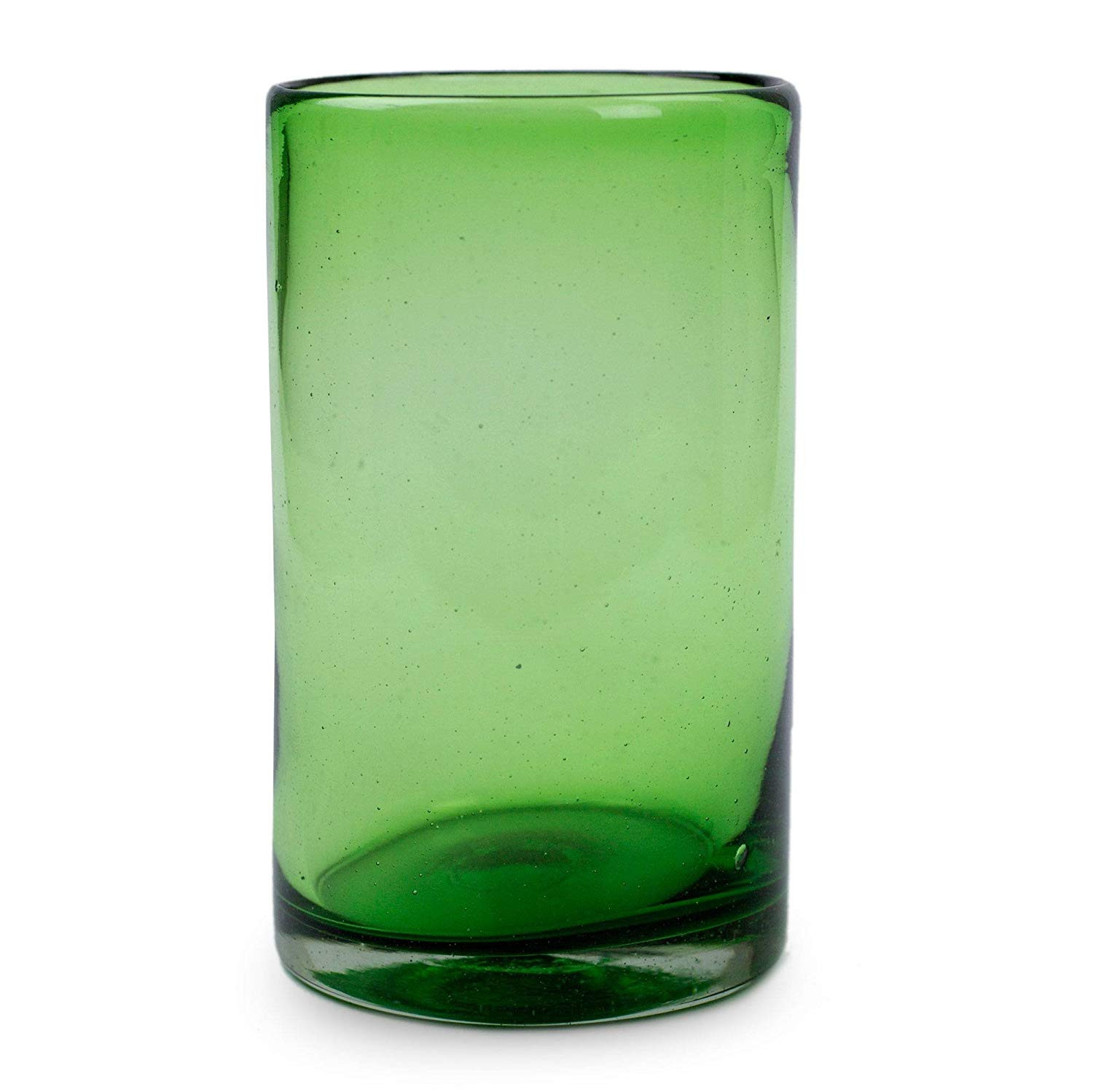 green bubble glass vase of amazon com novica hand blown recycled glass green water glasses pertaining to amazon com novica hand blown recycled glass green water glasses 13 oz emerald green set of 6 highball glasses
