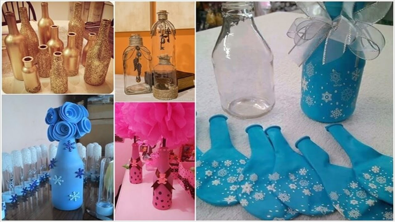 green glass bottle vase of glass milk bottle decoration ideas 12 things you can make from glass intended for glass milk bottle decoration ideas 12 things you can make from glass bottles a a a a a a a youtube