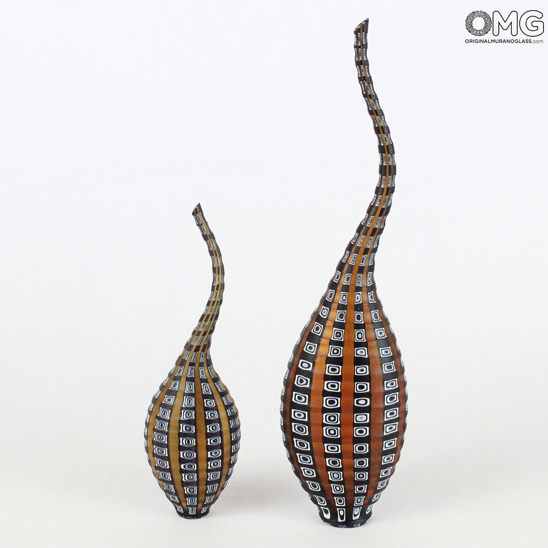 green murano glass vase of glass vase daabo cold engraving original murano glass omg intended for vasi aba dem murano glass omg ambra