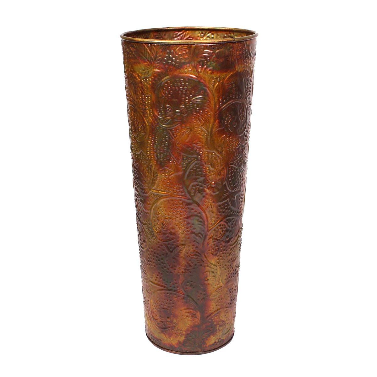 hammered metal vases silver of vineworks page 4 regarding hammered ironwork tall cylinder vineworks vineworks fair trade
