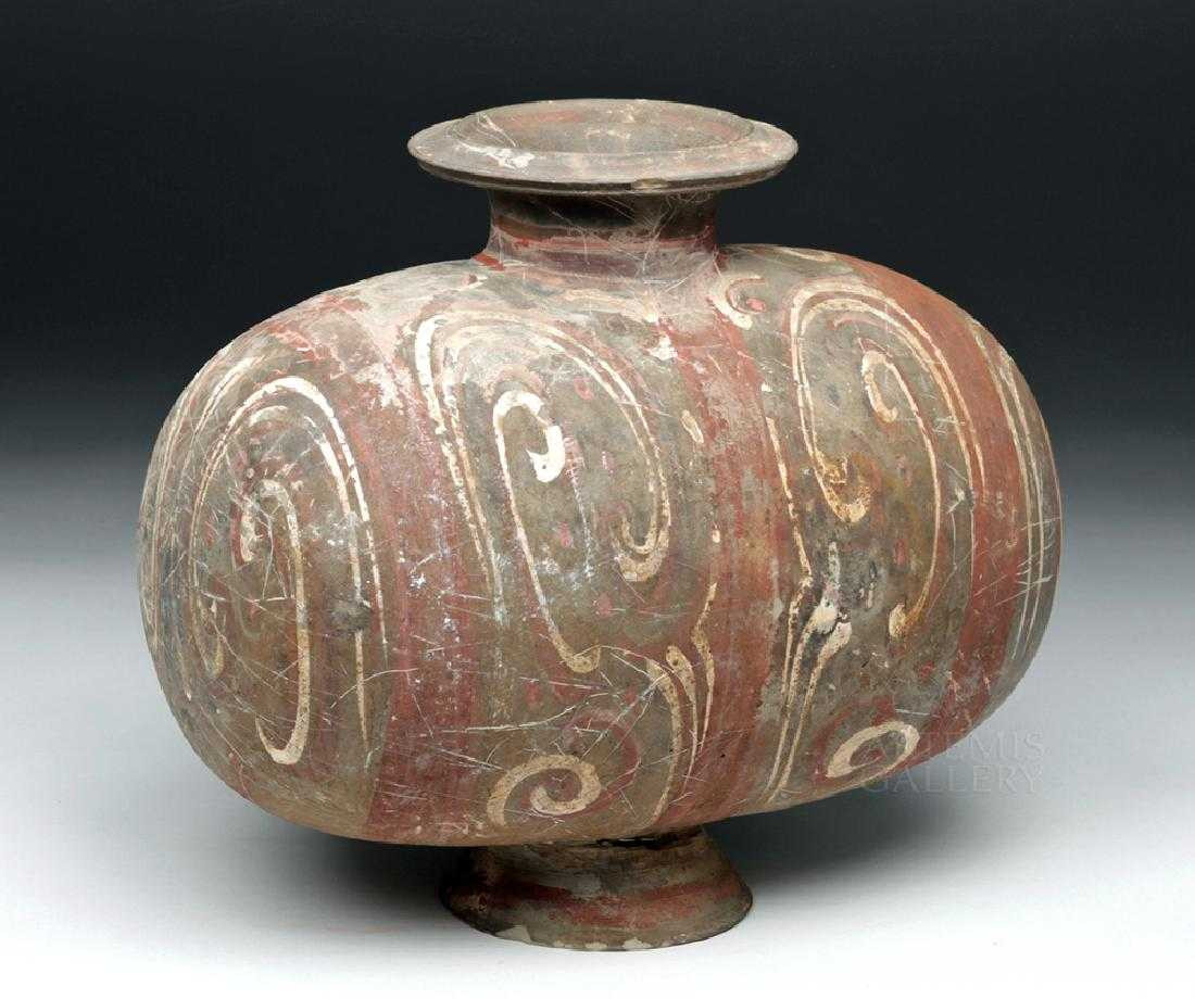 han dynasty vase of chinese han dynasty pottery cocoon vase inside 59503205 1 x