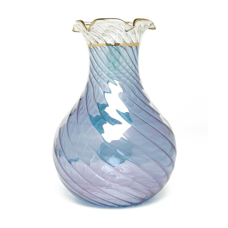 hand blown glass purse vase of sensational colors the getty store throughout egyptian handblown glass vase blue