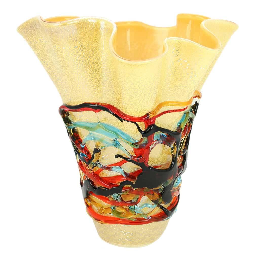 hand blown glass vases bowls of murano glass vases murano glass vesuvio abstract art vase for murano glass vesuvio abstract art vase