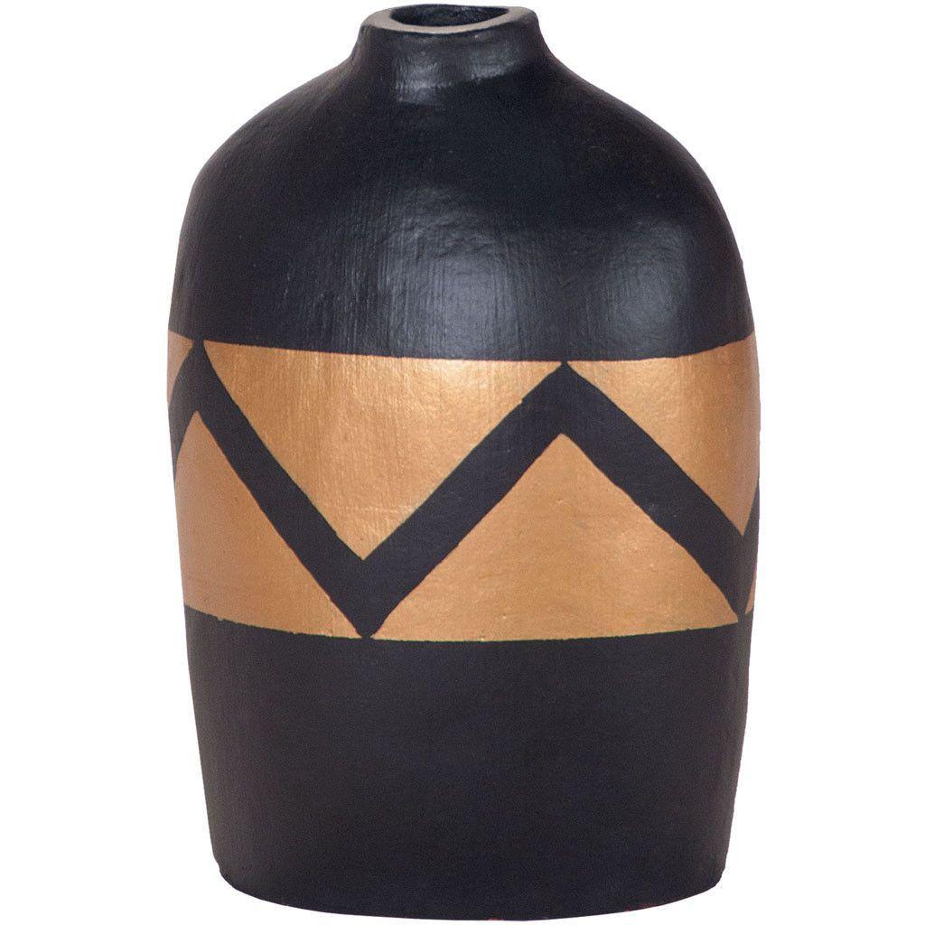 hand painted floor vase of golden wave hand painted vase pinterest painted vases gold with regard to golden wave hand painted vase