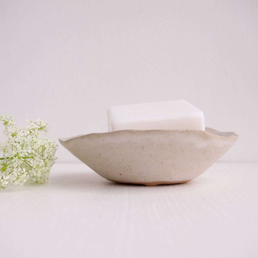 handmade ceramic vases uk of handmade white ceramic stoneware soap dish by kabinshop with regard to handmade white ceramic stoneware soap dish