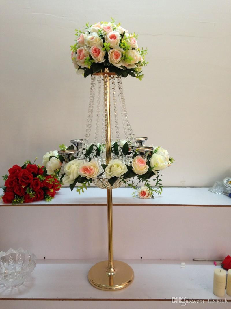hanging ball clear glass vase centerpiece of most popular tall stand crystal flower centerpiece for decoration inside most popular tall stand crystal flower centerpiece for decoration h96cm wedding flower stand gold or silver wedding centerpiece lassock8316 flower vase