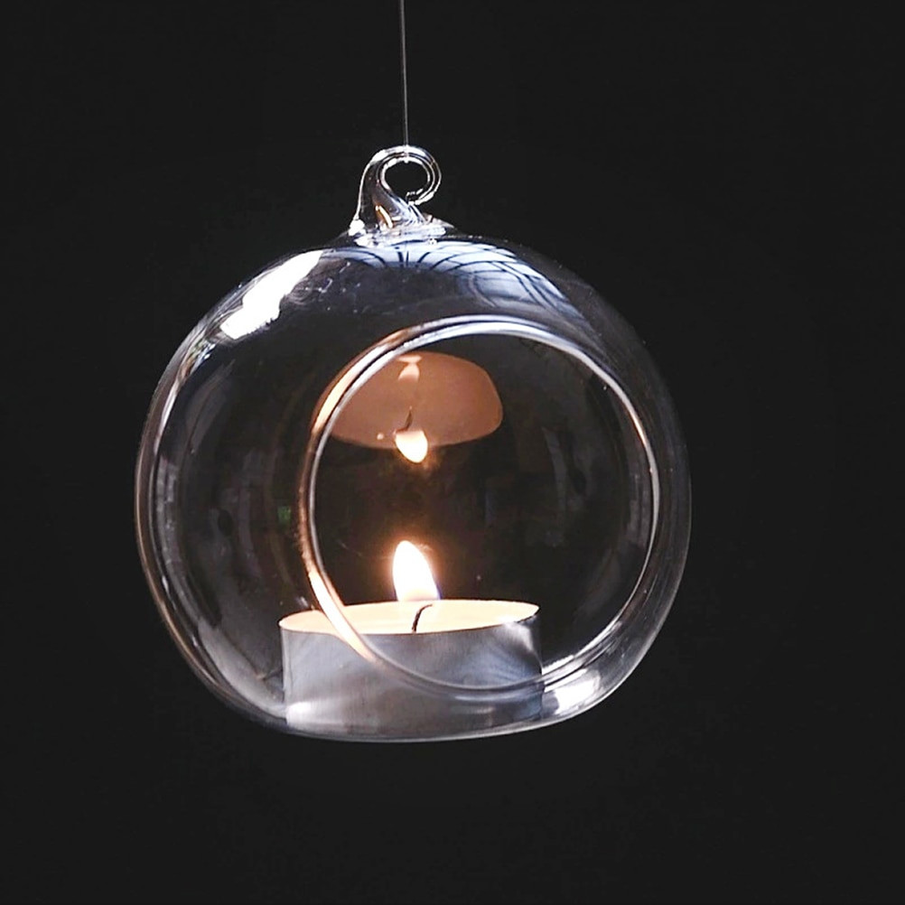hanging glass bubble vases of buy glass terrarium orbs and get free shipping on aliexpress com with regard to 1pc hanging tealight holder glass orb terrarium glass globe candle holder candlestick wedding bar decor