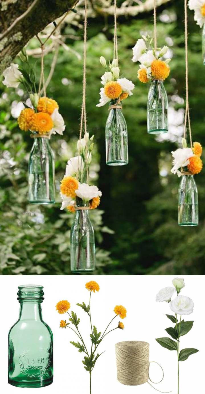 hanging glass vase of fake outdoor flowers fresh fake flower arrangements awful h vases in fake outdoor flowers lovely easy and low cost wedding decorations make this beautiful hanging of fake
