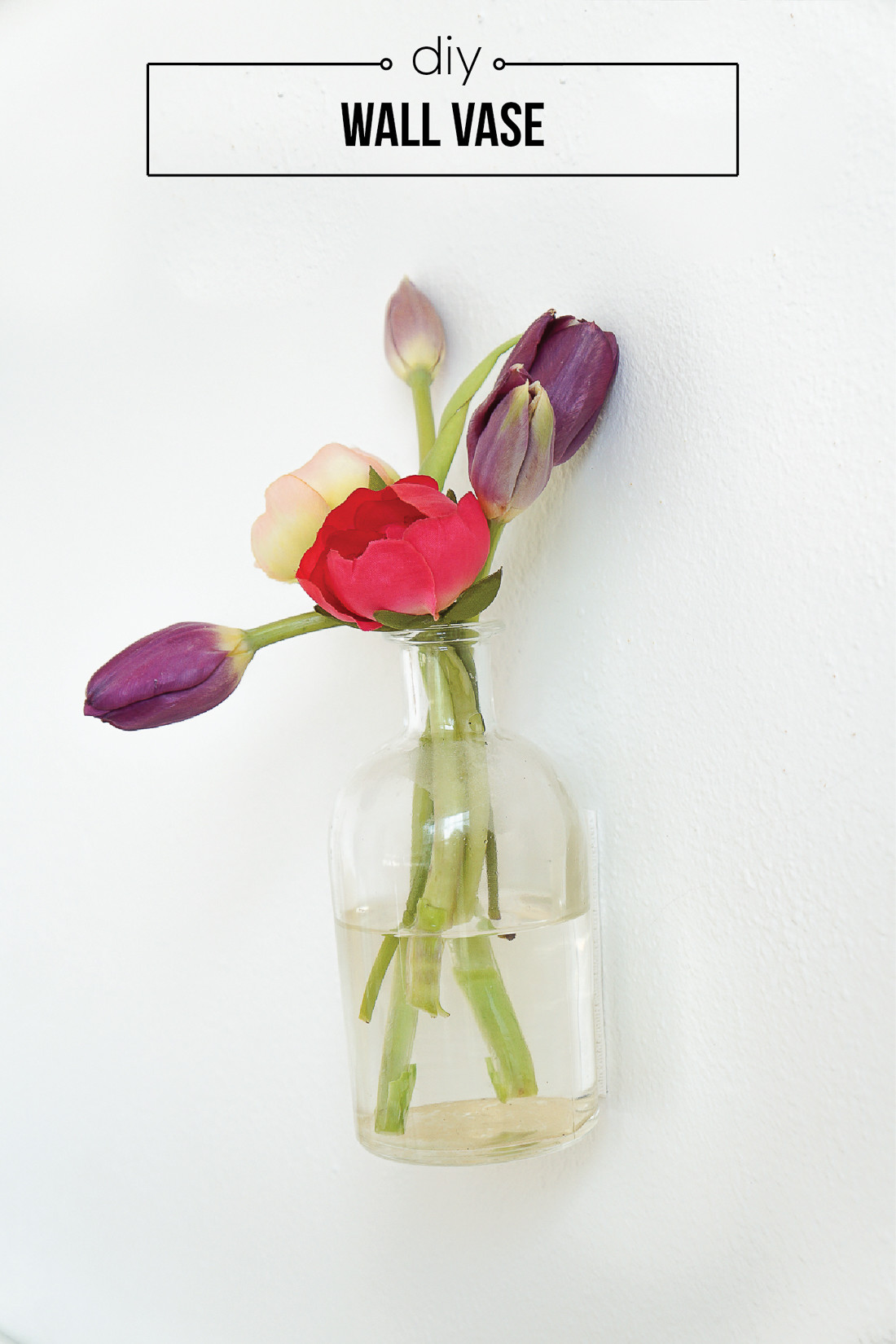 hanging wall vase of glass wall vases for flowers zef jam in diy wall vase francois et moi