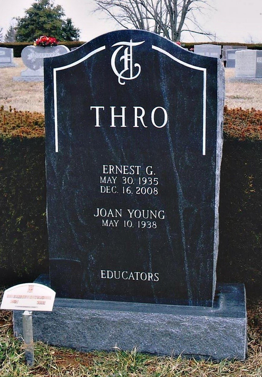 headstone vase holder of images companion two person monuments markers monuments regarding family name crest