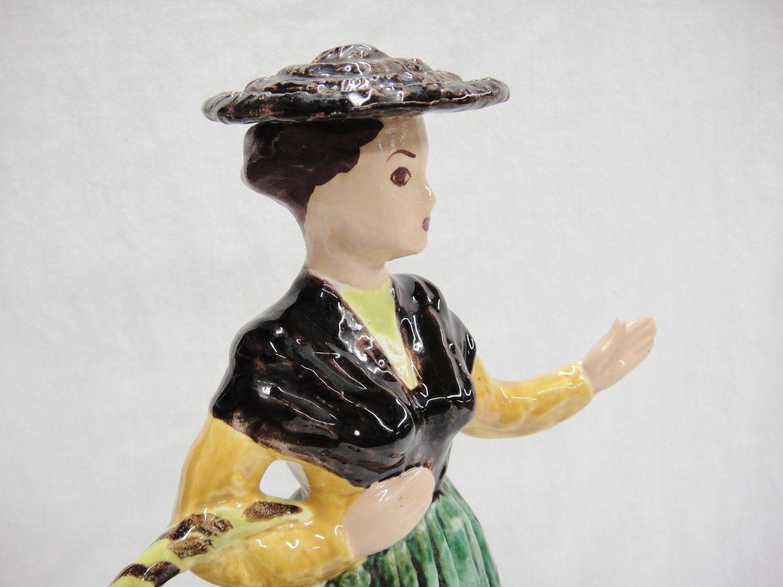 hedi schoop vase of hedi schoop vintage figurine vase woman holding market basket brown with hedi schoop vintage figurine vase woman holding market basket brown green 12 2 of 6 hedi schoop vintage figurine vase