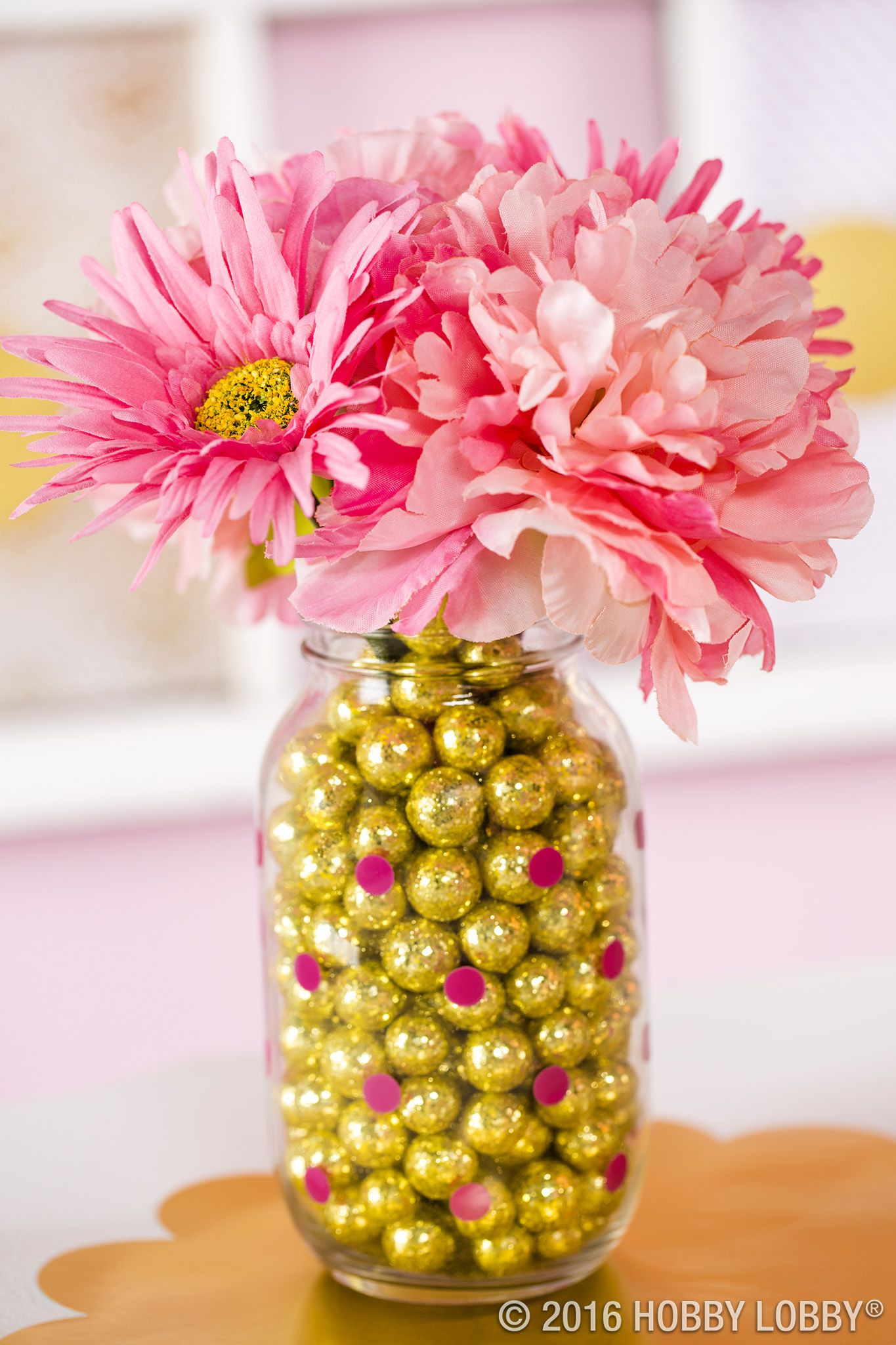 hobby lobby vases of a dash of gold and a splash of pink this will be a party to with jars vases decor pillows home decor frames hobby lobby