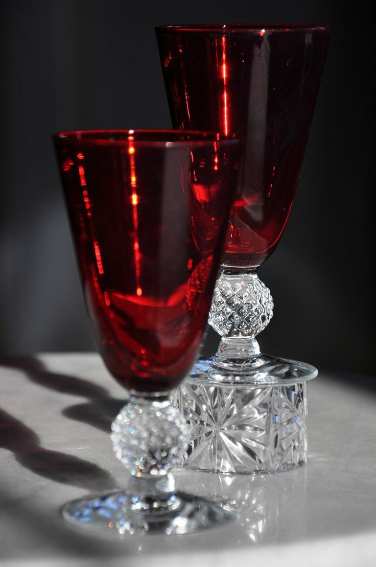 hofbauer red bird crystal vase of 294 best sklo images on pinterest crystals antique glass and in chanderliers elegant depression glass juice tumblers spanish red footed elegant from lennyfran