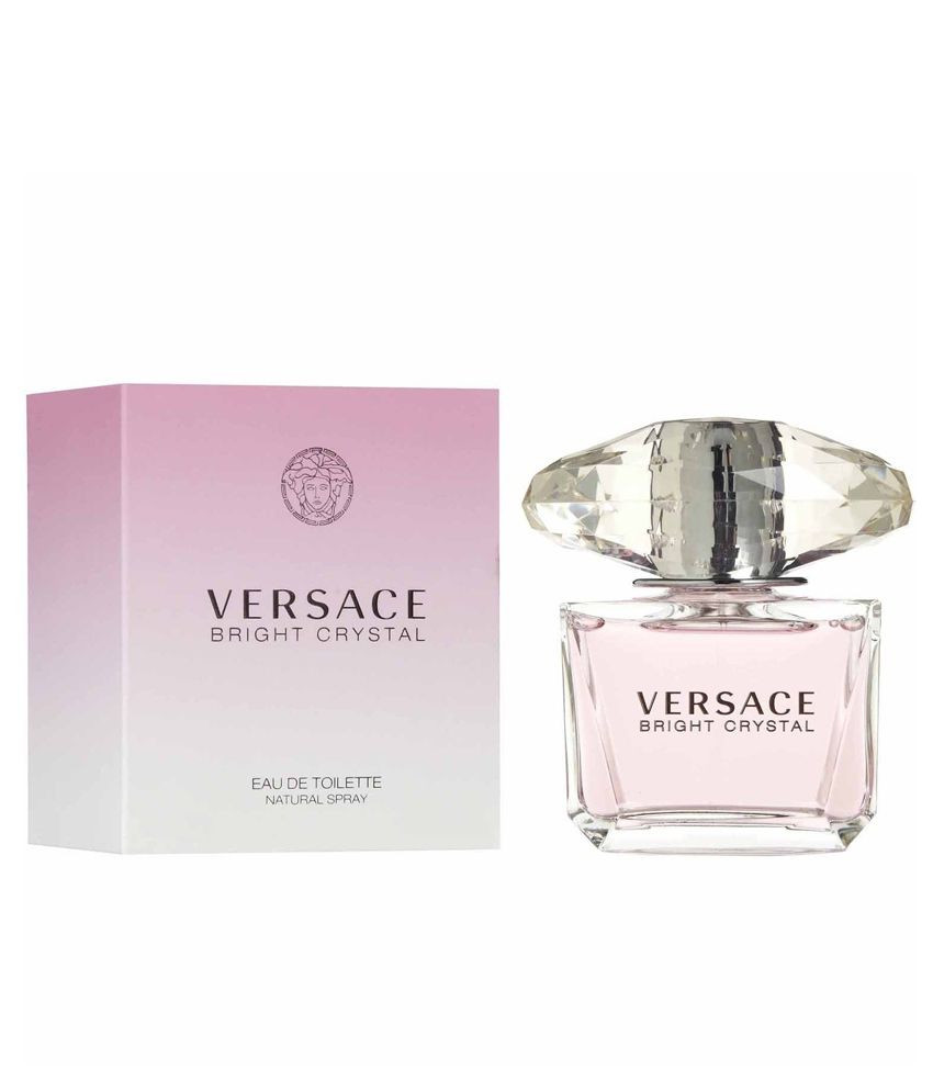 Hot Pink Glass Vase Gems Of Versace Bright Crystal Women 90ml Buy Online at Best Prices In Throughout Versace Bright Crystal Women 90ml