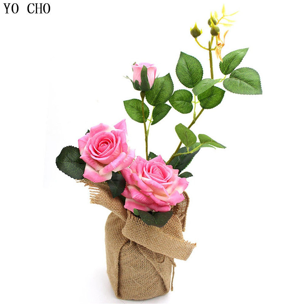 how to hold artificial flowers in a vase of wholesale wedding flower set artificial roses potted flowers linen with regard to wholesale wedding flower set artificial roses potted flowers linen vase with vase party birthday gift christmas home decoration in artificial dried