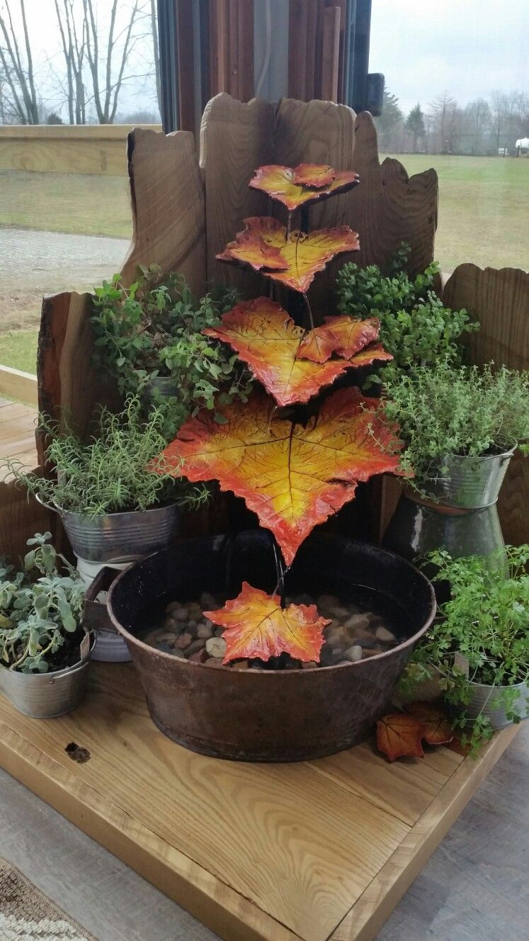 25 Amazing How to Make A Vase Water Fountain 2021 free download how to make a vase water fountain of water fountain made from cast concrete leaves and reclaimed wood in water fountain made from cast concrete leaves and reclaimed wood surrounded by an her