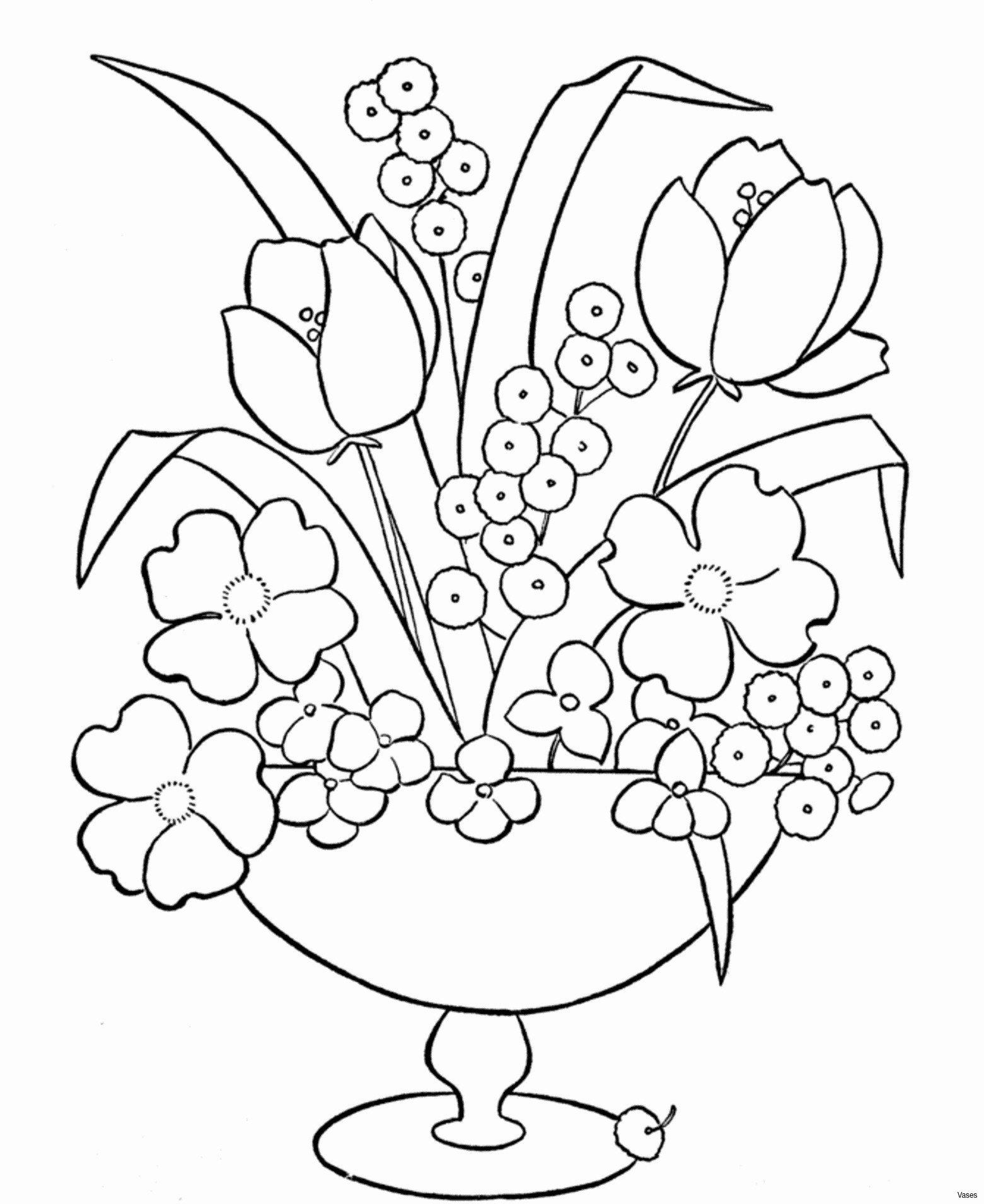 huge flower vase of picture to coloring page awesome cool vases flower vase coloring within fun coloring pages picture to coloring page awesome cool vases flower vase coloring page pages