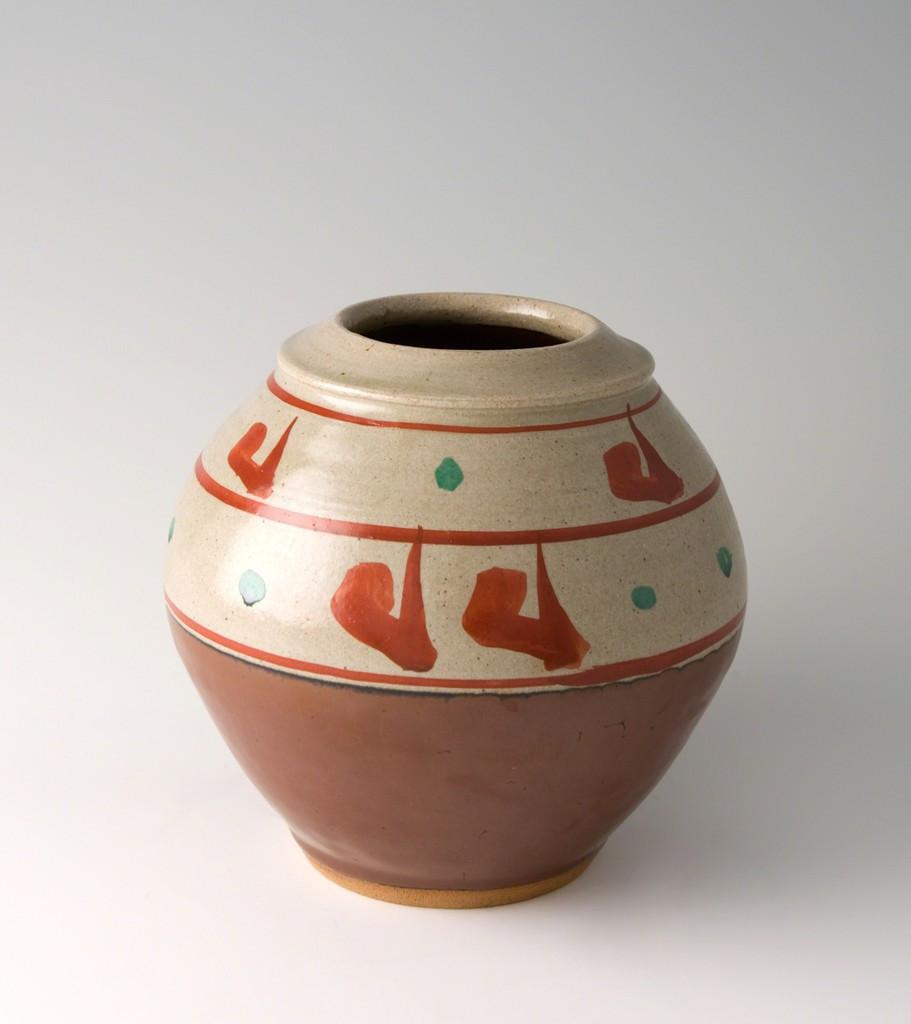 hull art pottery magnolia vase of https www artsy net artwork walter leblanc relief sable https regarding larger